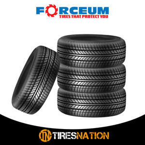 4 New Forceum Exp70 185 70r14 88h All Season Performance Tires