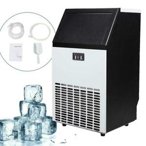 Undercounter Commercial Ice Machine Freestanding Ice Maker Built In Counter