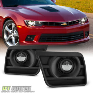 2014 2015 Chevy Camaro Ss Z28 V8 Bumper Fog Lights Driving Lamps Switch Harness