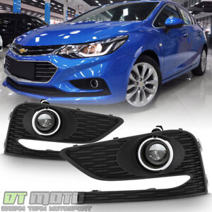 2016 2017 2018 Chevy Cruze Bumper Fog Lights Driving Lamps W Switch Left right