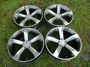 20 Dodge Challenger Charger Oem Factory Polished Wheels Rims 2529 10 18 Nice