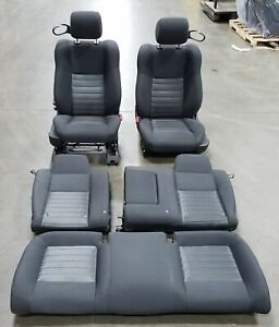 2010 Dodge Challenger Driver Passenger Front Rear Black Cloth Seats Oem Lkq