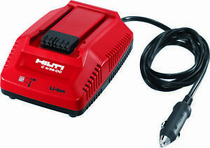 Hilti 2109005 Dc Car Charger 4 36 Cordless Systems