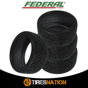 4 New Federal 595rs rr 215 40zr18 85w Tires