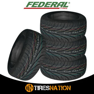 4 New Federal 595rs R 255 40zr17 94w Tires