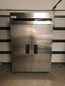 Stainless Steel Delfield Double Refrigerator