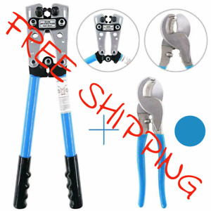 Iwiss Battery Cable Lug Crimping Tools Hand Electrician Pliers For Wire From