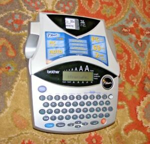 Brother P touch Pt 1950 1960 Portable Label Maker Tested Nice 53 Symbols 2 Line