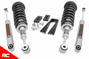 Rough Country 2 5 Leveling Kit Fits 2004 2008 Ford F150 N3 Struts Rear Shocks