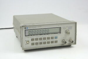 Hp 5385a Frequency Counter 10hz To 1ghz Used 12