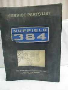 Nuffield Leyland Model 3 45 4 65 344 384 253 Tractor Service Manual Akd 5232