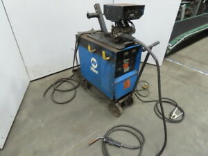 Miller Cp300 Welder W millermatic S 52e Wire Feeder Tweco Mig Gun Works Good
