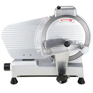 10 Electric Slicer 240w 530rpm Commercial Meat Slicer For Cheese Food Deli