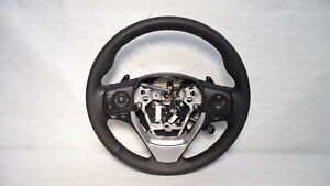 2016 Toyota Corolla Leather Steering Wheel W Audio Cruise Controls Black Oem