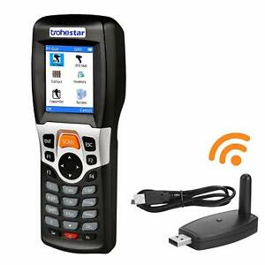 Wireless Barcode Scanner And Collector Portable Data Terminal Inventory Device U