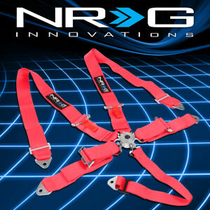 Nrg Sbh R6pcpk 5 Point Cam Lock Buckle 3 Safety Harness Seat Belt Replacement