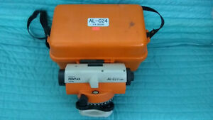 Pentax Al c24 Level With Case Plumb Bob And Allen Wrenches