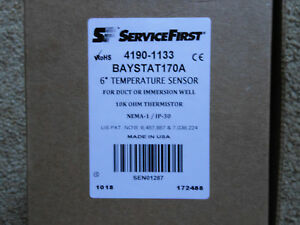 New Service First 6 Temperature Sensor Duct 4190 1133 Thermowell