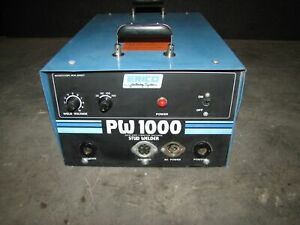 rt Erico Pw1000 Solid State Stud Welder 2802