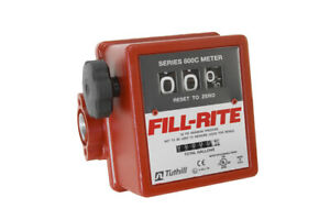 Fill rite 807c 3 4 Fuel Mechanical Flow Meter
