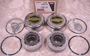 Warn 62672 4wd Manual Locking Hubs 35 Spline Dana 60 50 1 Ton Axle Lockout Set