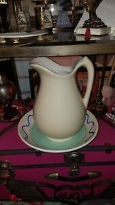 Pier One Pitcher And Wash Bowl 12 Inch
