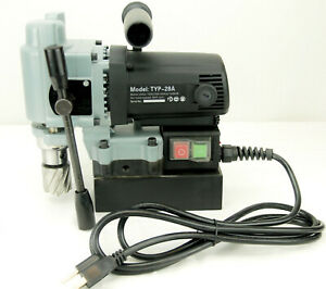 Bluerock Tools Typ 28a Mini Magnetic Drill Press Typhoon Small Mag Annular