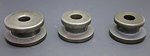 3 Pc Centering Cone Adapter Set Brake Lathe W 1 Arbor Ammco Rels Accuturn Fmc
