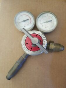 Acetylene Gas Regulator Smith s H1720a 300 With Gauges