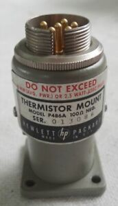 Hp Thermistor Mount Model P486a Wr62 12 4 18 0ghz