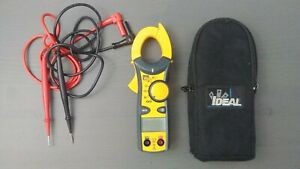 Ideal Digital Multimeter 61 732 400 Amp Clamp Meter
