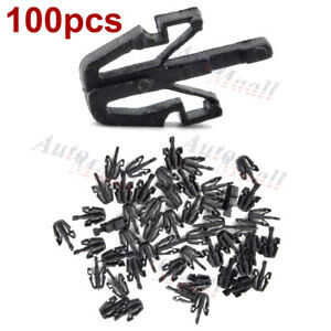 100pcs Grille Clips Retainers For Toyota Previa Supra Tercel Starlet 90467 13011