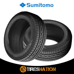 2 New Sumitomo Htr A S P02 225 45 17 94w Bw All Season High Performance Tires