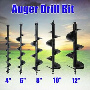 4 6 8 10 12 drill For Post Hole Digger Auger Bits Shock Absorber Extension