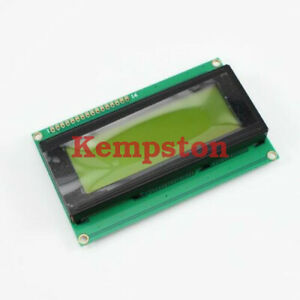 10pcs New 2004 20x4 Character Lcd Display Module Yellow Blacklight