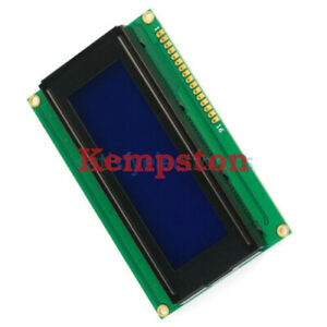 10pcs Blue Blacklight 2004 204 20x4 Character Lcd Display Module Hd44780