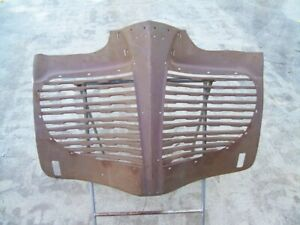 Nors 1941 41 Plymouth Standard Deluxe P11 P12 Radiator Grille Shell 936749r