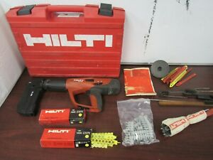 Hilti Dx460 Fully Automatic Powder actuated Tool W mx72 Magazine more 50fl