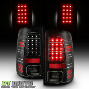 2010 2018 Dodge Ram 1500 2500 3500 black Edition Led Tail Lights Brake Lamps