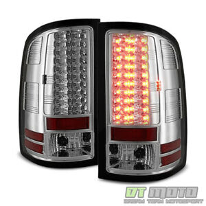2007 2013 Gmc Sierra 1500 2500hd 3500hd Lumileds Led Tail Lights Brake Lamps Set