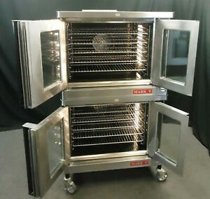 2017 Blodgett Mark V Digital Commercial Electric Double Convection Oven 1 Or 3 P