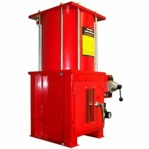 10 Ton Air Hydraulic Oil Filter Can Crusher With Stand