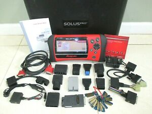 Snapon Solus Pro Diagnostic Scanner Domestic Asain Europeon 17 2 Update 80s 2016