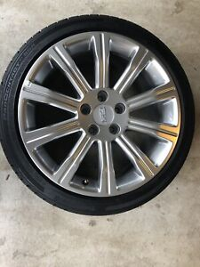 Cadillac Ats Wheels 18 Oem With Continental Run Flat Tires Like New Condition
