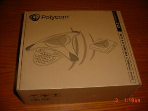 Polycom Soundstation 2w Conference Phone 2201 67800 160 New In Box
