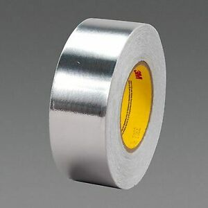 3m 3302 2 In X 36 Yd 3 6 Mil Plastic Core Conductive Aluminum Foil Tape 2 In