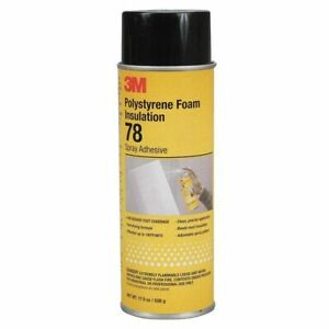 3m 78 Polystyrene Foam Insulation Spray Adhesive case Of 12 12 Can