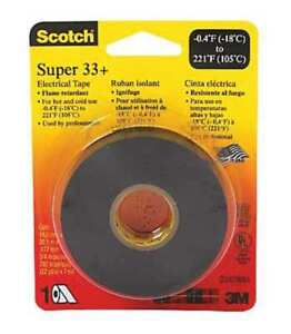 3m 33 super 3 4x52ft 3 4 In X 52 Ft Scotch Super 33 vinyl Elec 100 Rolls