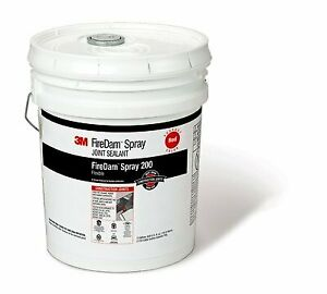 3m Firedam Spray 200 Red 5 Gallon Pail Price Is For 1 Pail