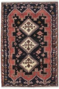 Hand Knotted Semi Antique 4 4x6 7 Tribal Persian Rug Oriental Home D Cor Carpet